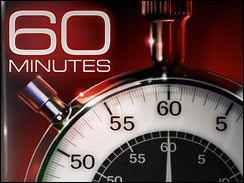 60 minutes?  I don't think so...