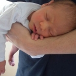 Rediscovering another calming baby hold